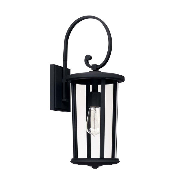 Howell Black One-Light Outdoor Wall Lantern, image 1