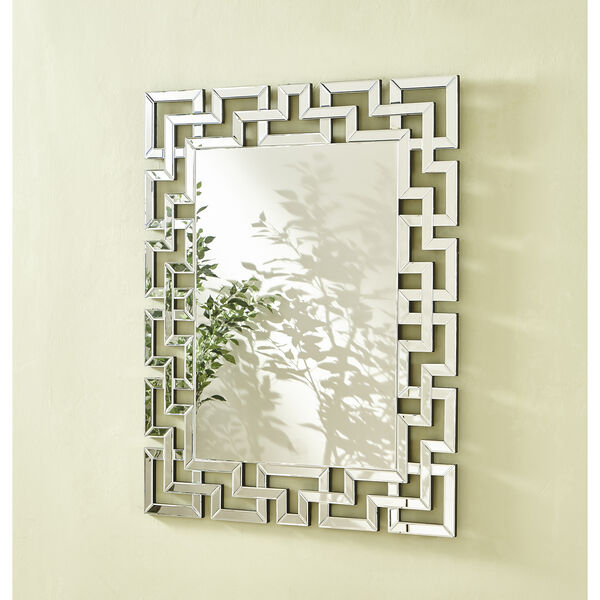 Sparkle Glass 37-Inch Mirror, image 2
