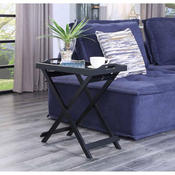 Designs2go Black Folding Tray Table, image 4