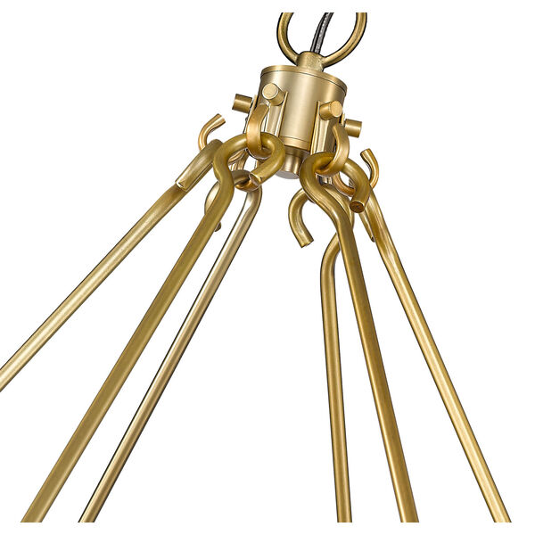 Barclay Olde Brass 48-Inch 12-Light Chandelier, image 6