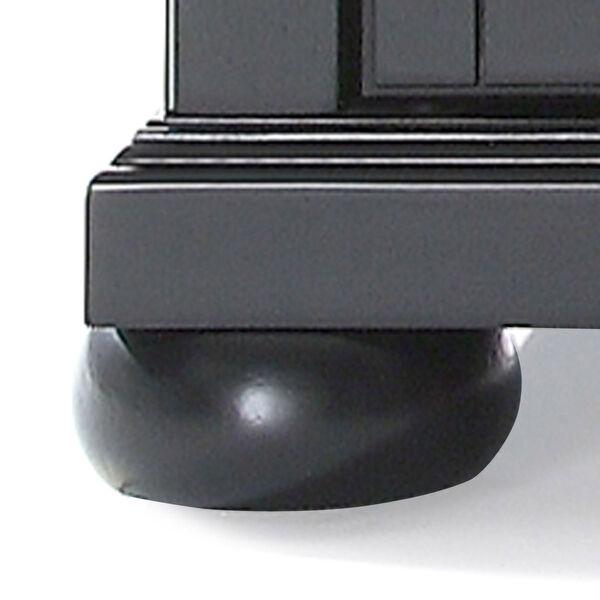 Alexandria 48-Inch Corner TV Stand in Black Finish, image 3