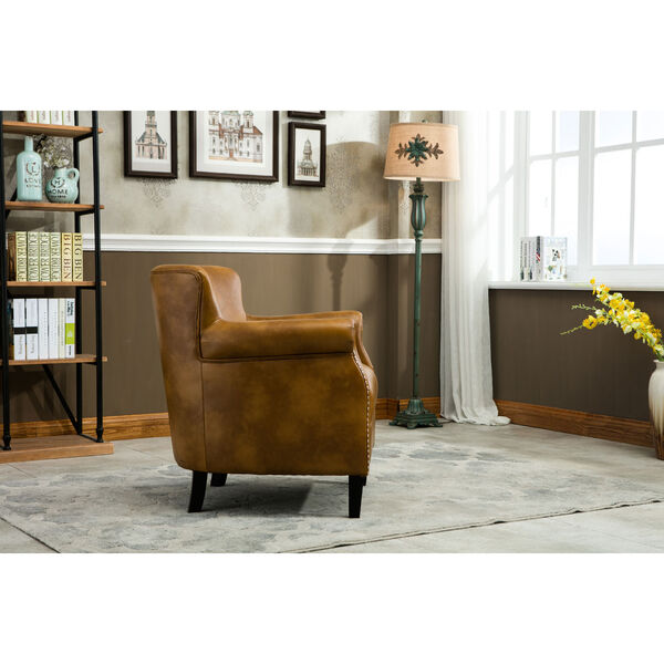 Holly Camel Club Chair, image 3