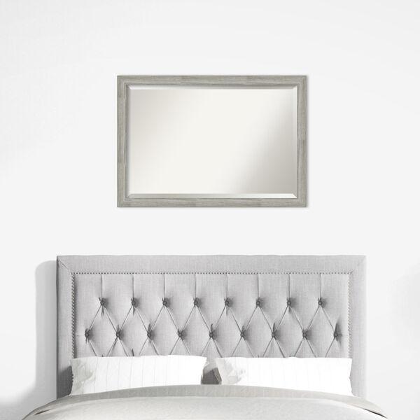 Dove Gray Bathroom Vanity Wall Mirror, image 6