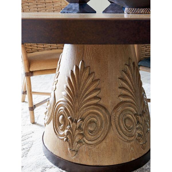 Los Altos Brown Weston Round Dining Table, image 3