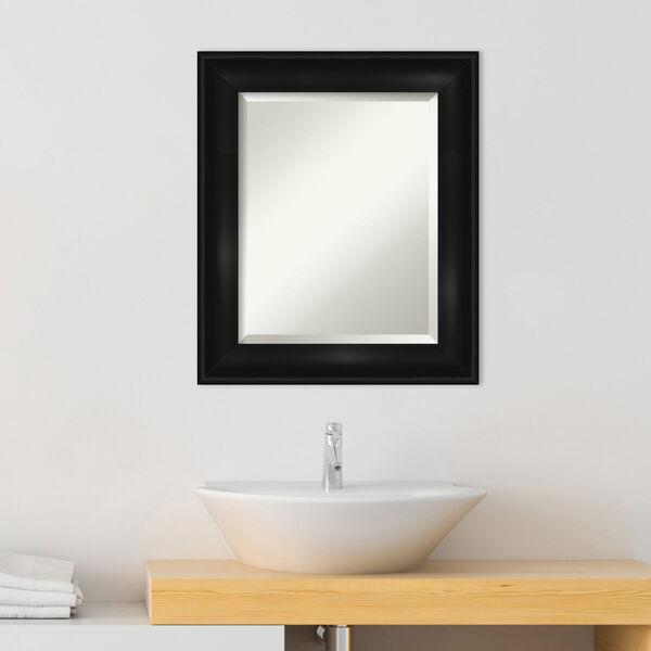 Black 22W X 26H-Inch Bathroom Vanity Wall Mirror, image 3