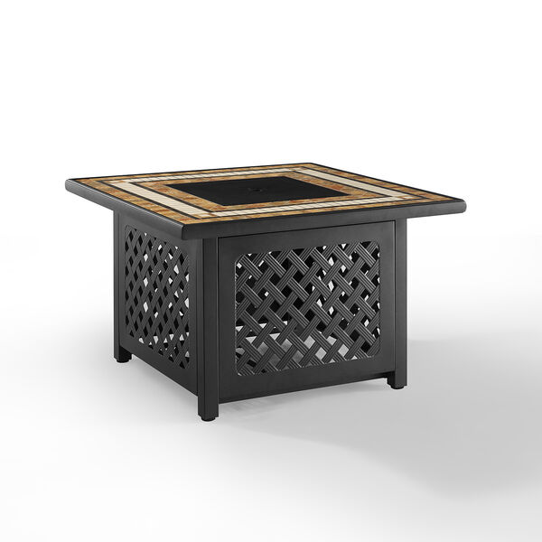 Tucson Brown 40-Inch Fire Table, image 2