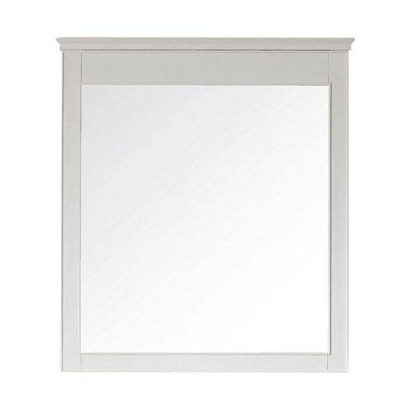 Windsor White 34 Inch x 38 Inch Mirror, image 1