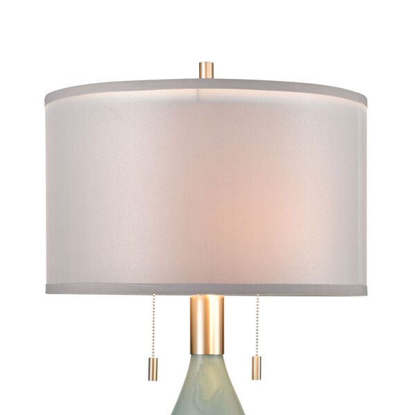 Torrontes Brushed Nickel Two-Light Table Lamp, image 3