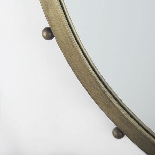 Elena II Gold Wall Mirror, image 4