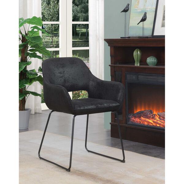 Samantha Antique Black Accent Chair, image 1