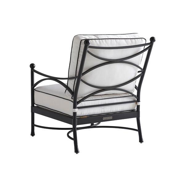 Pavlova Graphite and White Lounge Chair, image 2