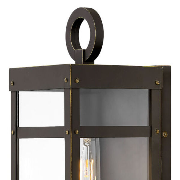 Porter Oil Rubbed Bronze One-Light 13-Inch Outdoor Wall Mount, image 2