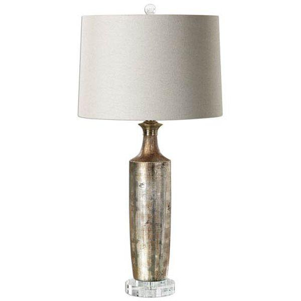 Hughes Metallic Bronze Table Lamp, image 1