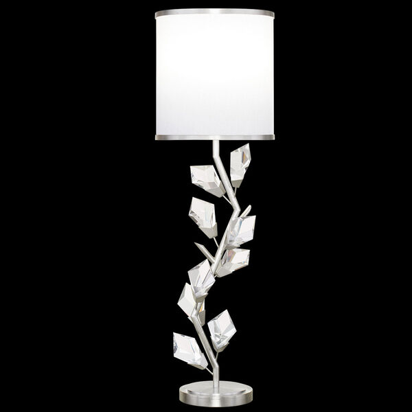 Foret Silver White One-Light Console Lamp, image 1