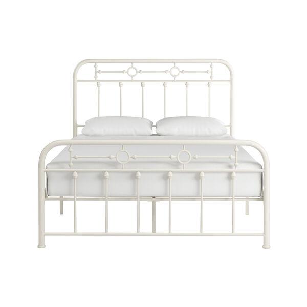 Elliot White Full Metal Spindle Bed, image 2