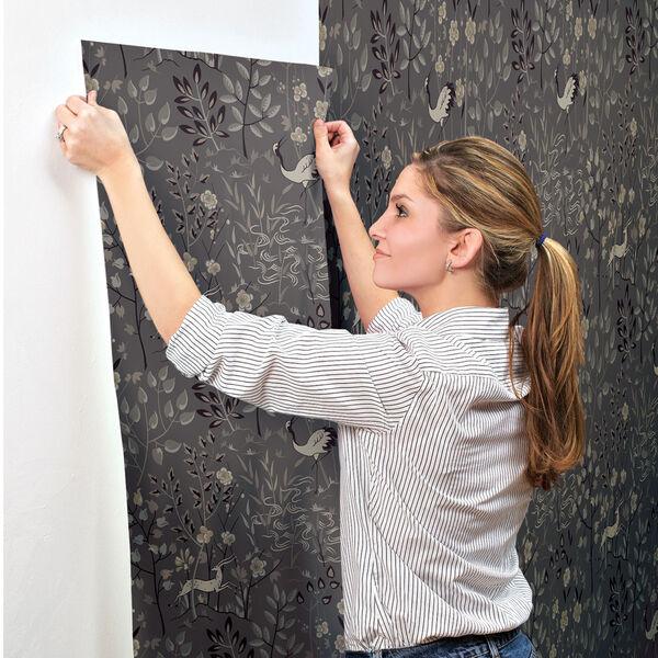 Ronald Redding Urban Dark Grey Aspen Wallpaper, image 5