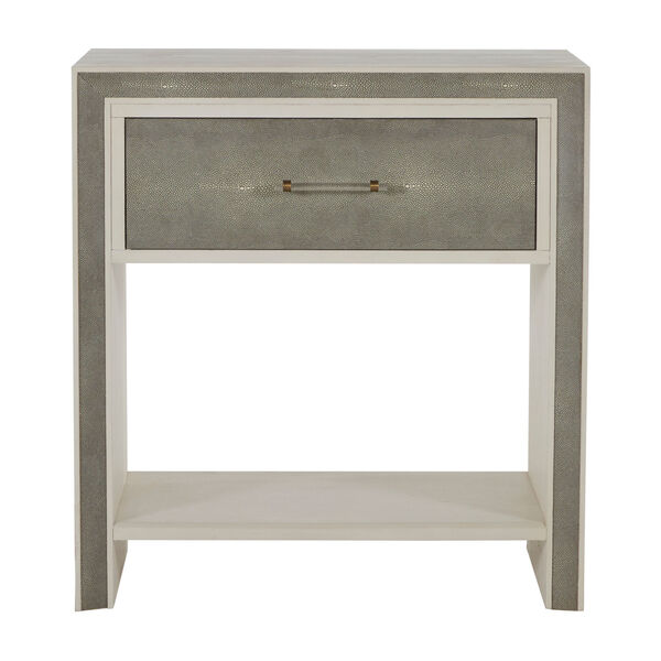 Alford White and Gray Nightstand, image 3