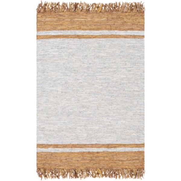 Lexington Camel, Light Gray and Wheat Rectangular Rug, image 1