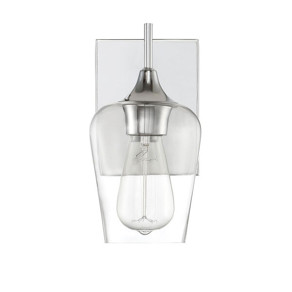Selby Polished Chrome One-Light Wall Sconce, image 5