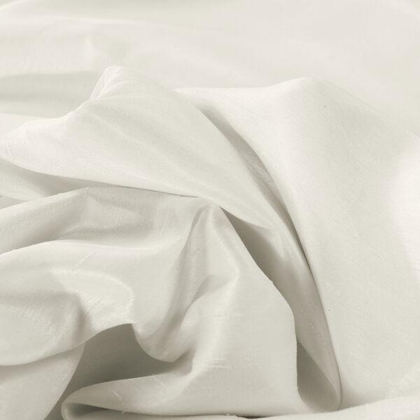 Off White Vintage Textured Faux Dupioni Silk Single Panel Curtain, 50 X 96, image 7