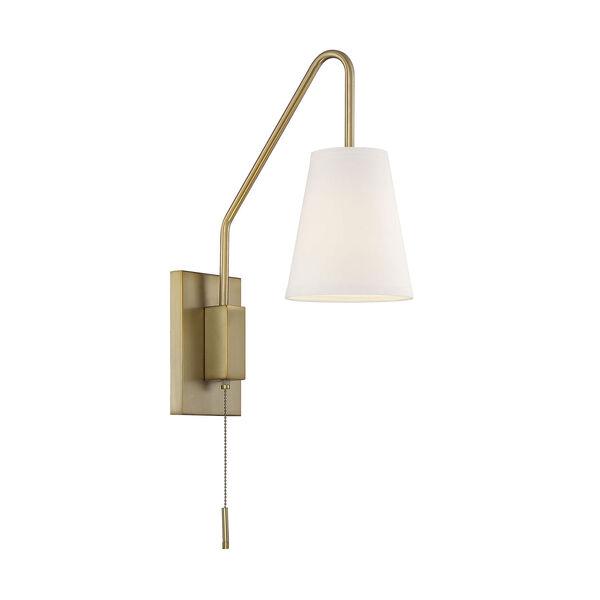 Owen Warm Brass One-Light Sconce, image 3