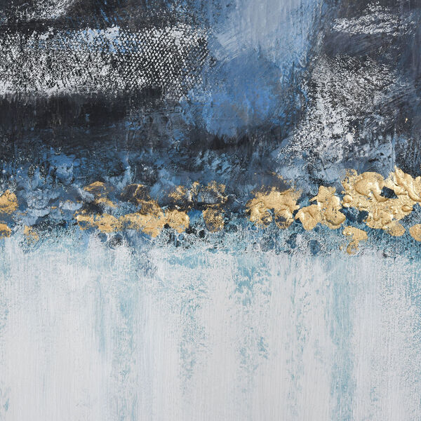 Acrylic Blue Wall Art, image 5