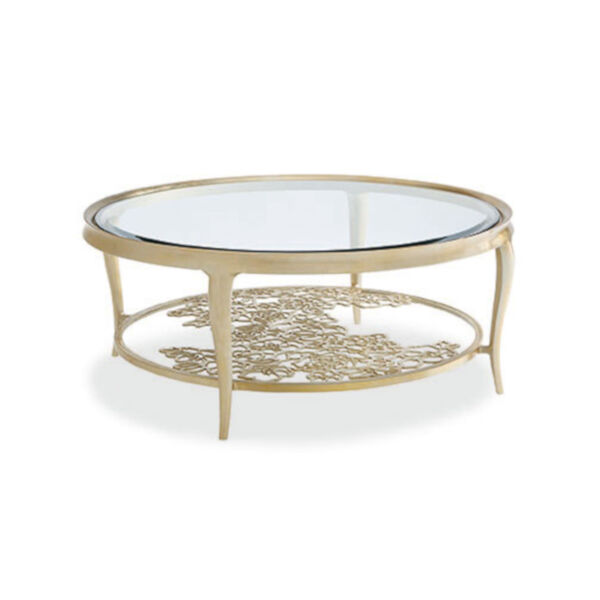 Classic Gold Handpicked Coffee Table, image 2