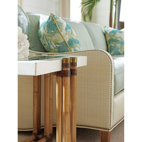 Twin Palms Brown Los Cabos Lamp Table, image 3