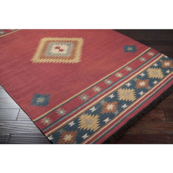 Jewel Tone Multicolor Rectangular Rug, image 5