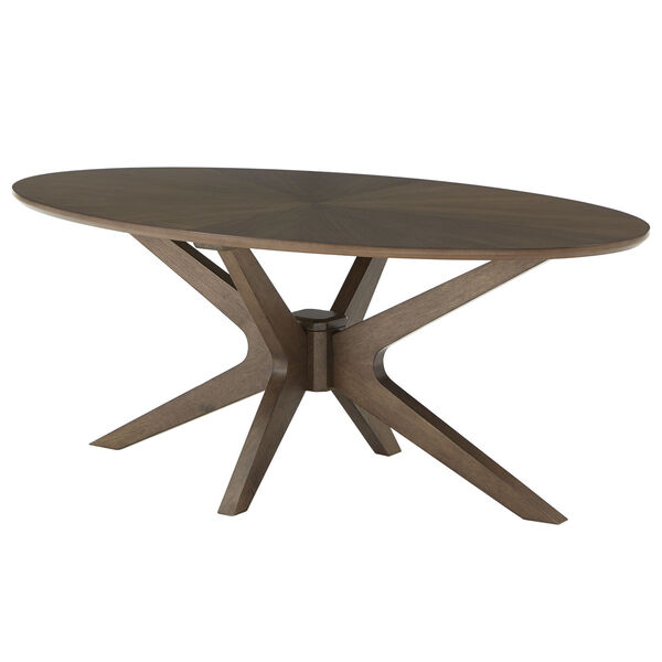 Luka Walnut Coffee Table, image 1