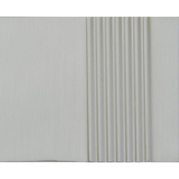 Nuage Satin Nickel Three-Light Semi-Flush Mount, image 2