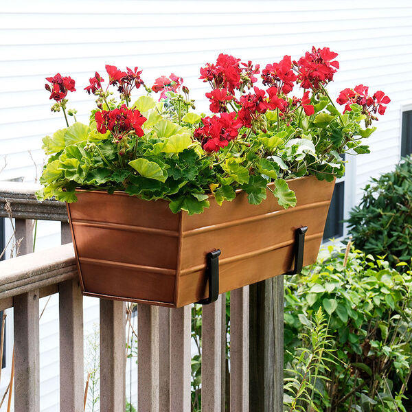 Copper Plated Window Box - Med, image 2