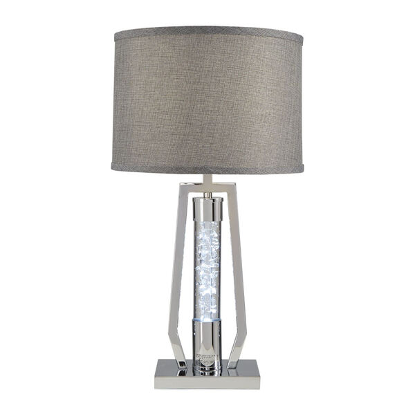 Hayes Chrome One-Light Table Lamp, image 2