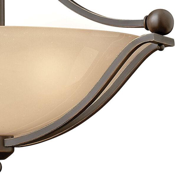 Bolla Olde Bronze Semi-Flush Ceiling Light, image 2