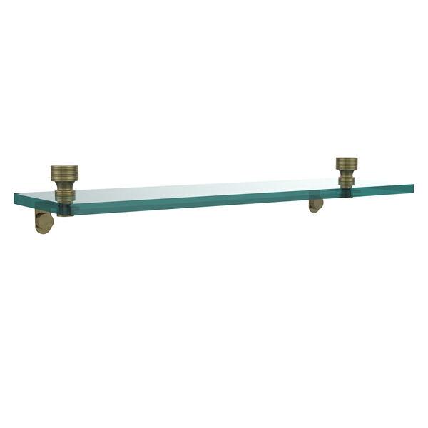 Foxtrot Antique Brass Single Shelf, image 1