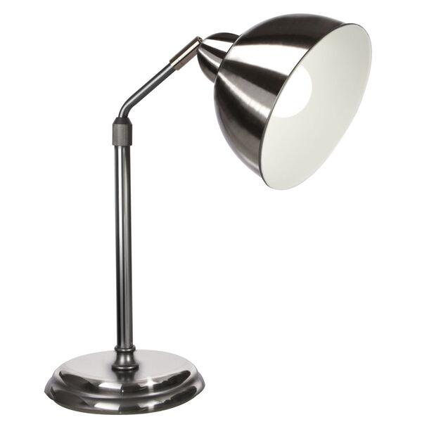 Covington Brushed Nickel LED Desk Lamp, image 1