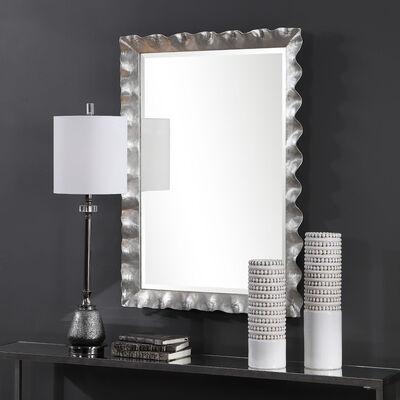 Bathroom Racks Shelving Glass, Silver Bathroom Mirrors