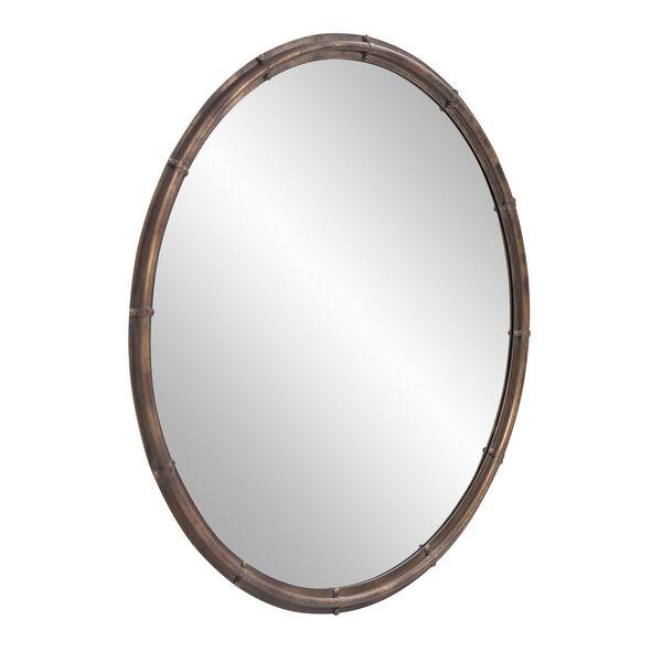 Nova Acid Treated Round Wall Mirror, image 2
