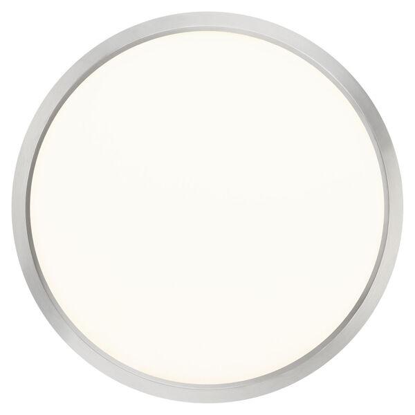 Outskirt Brushed Nickel 15-Inch LED Flush Mount, image 5