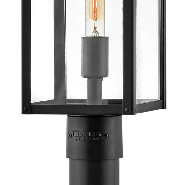 Max Black One-Light Outdoor Post Mount, image 3