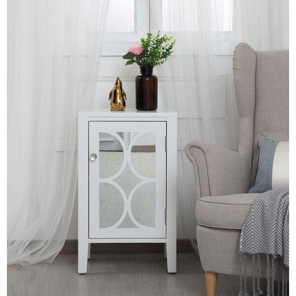 Modern White 18-Inch Cabinet, image 2