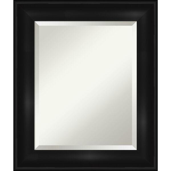 Black 22W X 26H-Inch Bathroom Vanity Wall Mirror, image 1