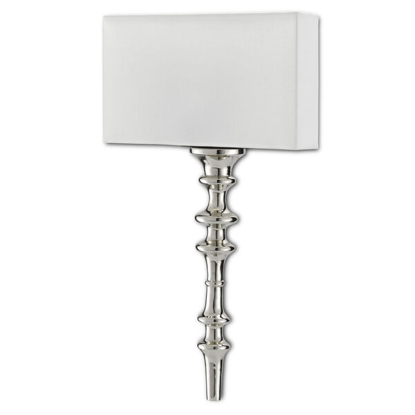 Achmore Nickel Black One-Light Wall Sconce, image 4
