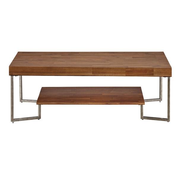 Dawson Brown Rectangular Cocktail Table, image 2