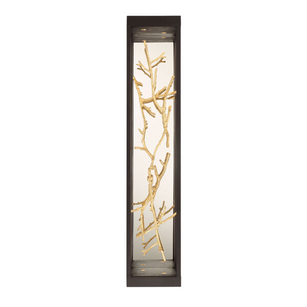 Aerie Bronze and Gold Four-Light LED Wall Sconce, image 2