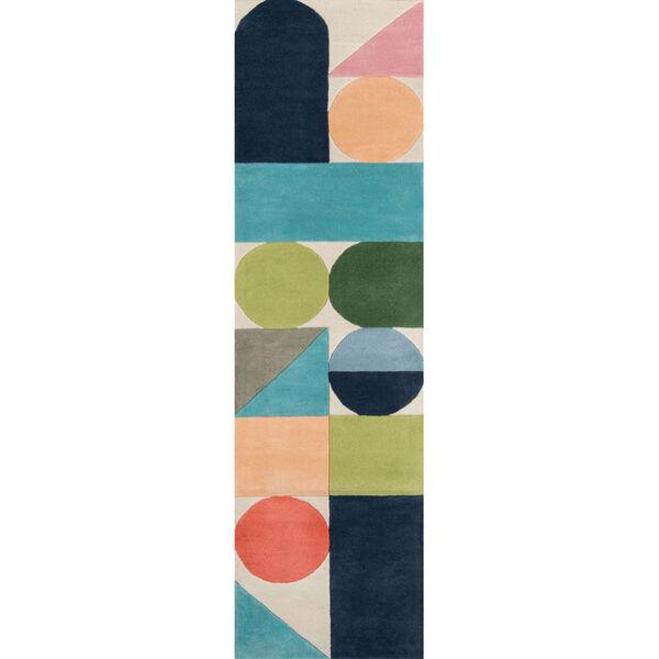 Delmar Wright Multicolor Rectangular: 3 Ft. 6 In. x 5 Ft. 6 In. Rug, image 6
