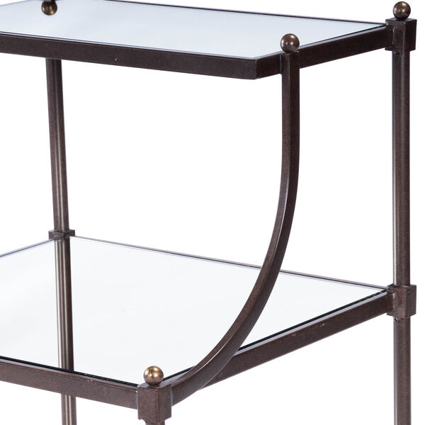 Metalworks Tiered Side Table, image 10