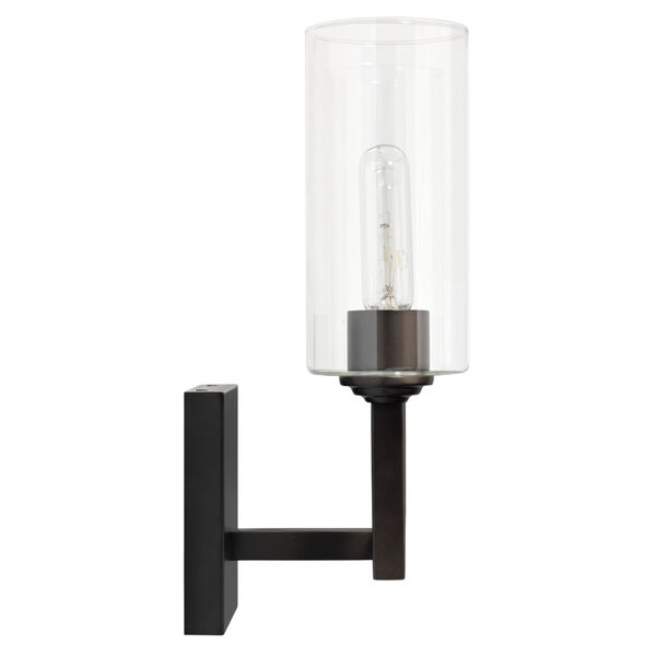 Linear Oil Rubbed Bronze Two-Light Wall Sconce, image 3