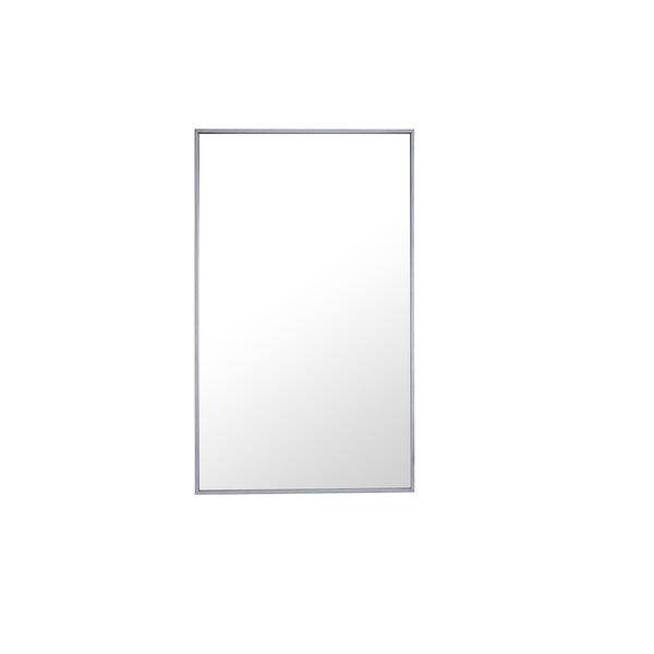 Eternity Silver 40-Inch Mirror, image 1