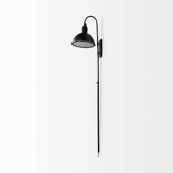 Tazb II Black One-Light Wall Sconce, image 5